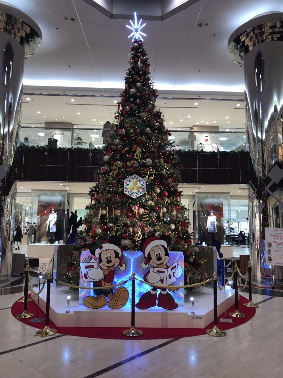 2017年東急デパートのクリスマスツリー