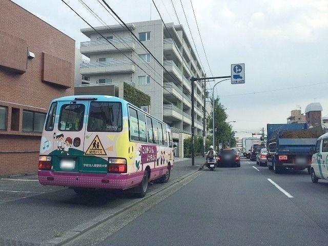 国学院幼稚園の送迎バス