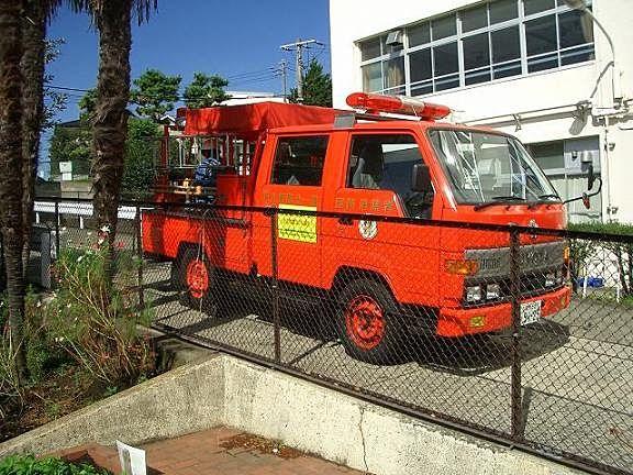 消防団の積載車