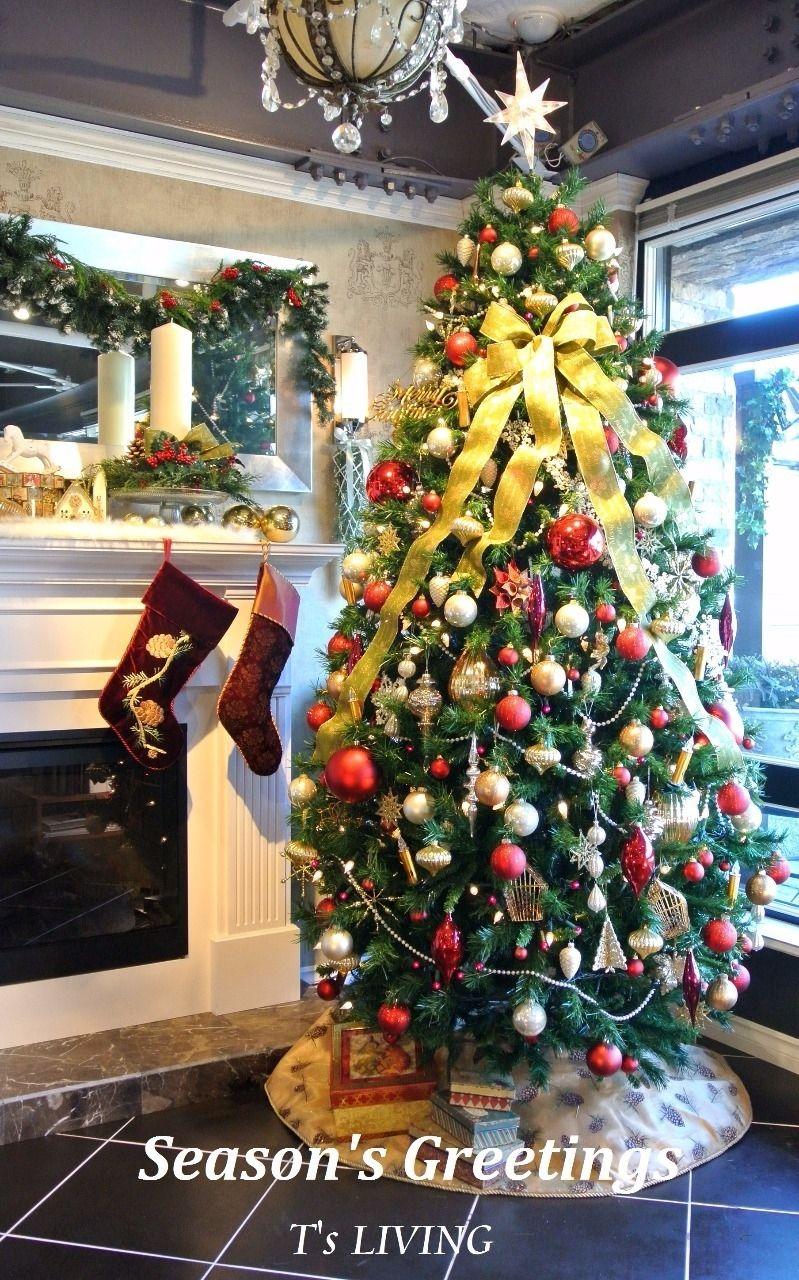 (有)ティーズリビング のクリスマスツリー