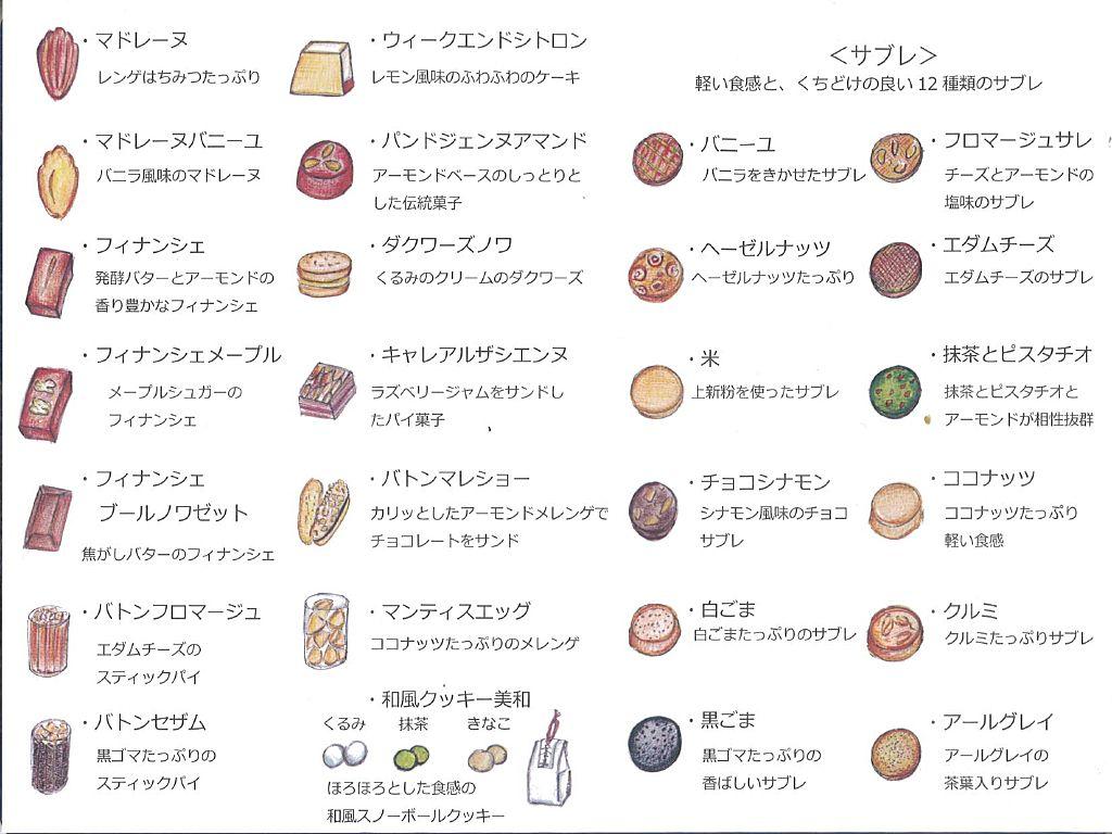T・M様から頂いただいた『sweets garden YUJI AJIKI』の「焼き菓子」