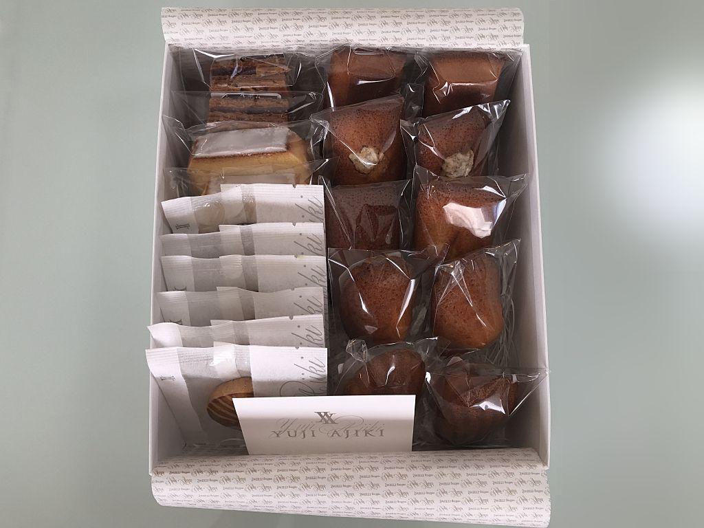 スイートガーデン ユウジアジキ・『sweets garden YUJI AJIKI』の「焼き菓子」