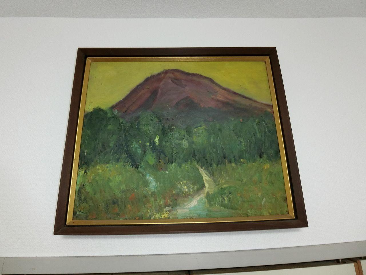 たまプラーザの美しが丘法律事務所の所長のお母様が描かれた絵