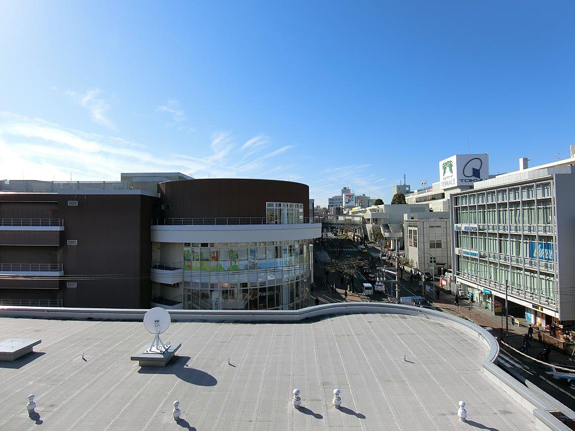 たまプラーザの美しが丘法律事務所から見たたまプラーザ駅ビル