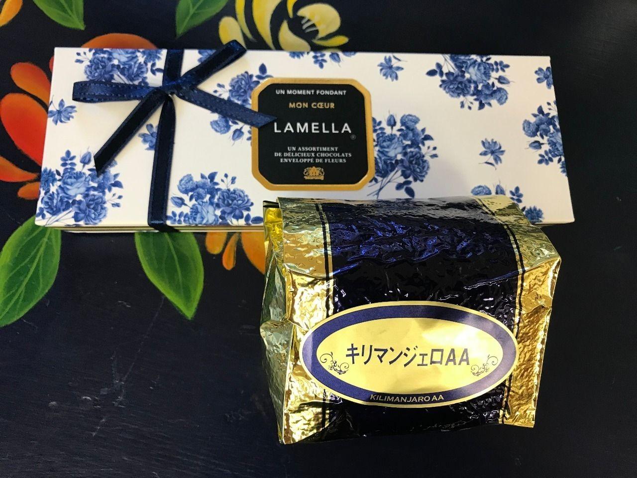 モロゾフのチョコlamella