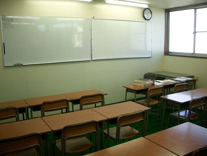 たまプラーザの学習塾・サンメイトの教室内の様子です。