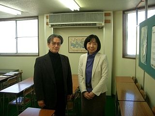 たまプラーザの学習塾サンメイトの近藤先生ご夫妻