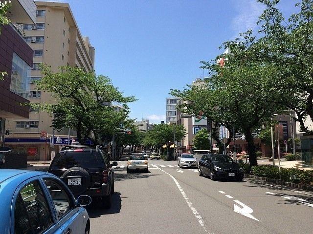 たまプラーザ駅北口のイトーヨーカドー前の横断歩道
