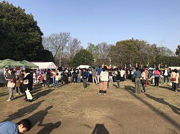 2018年たまプラーザの桜まつり(たまプラーザ桜フェスティバル)