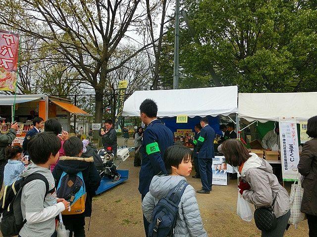 2015年たまプラーザの桜まつり(たまプラーザ桜フェスティバル)
