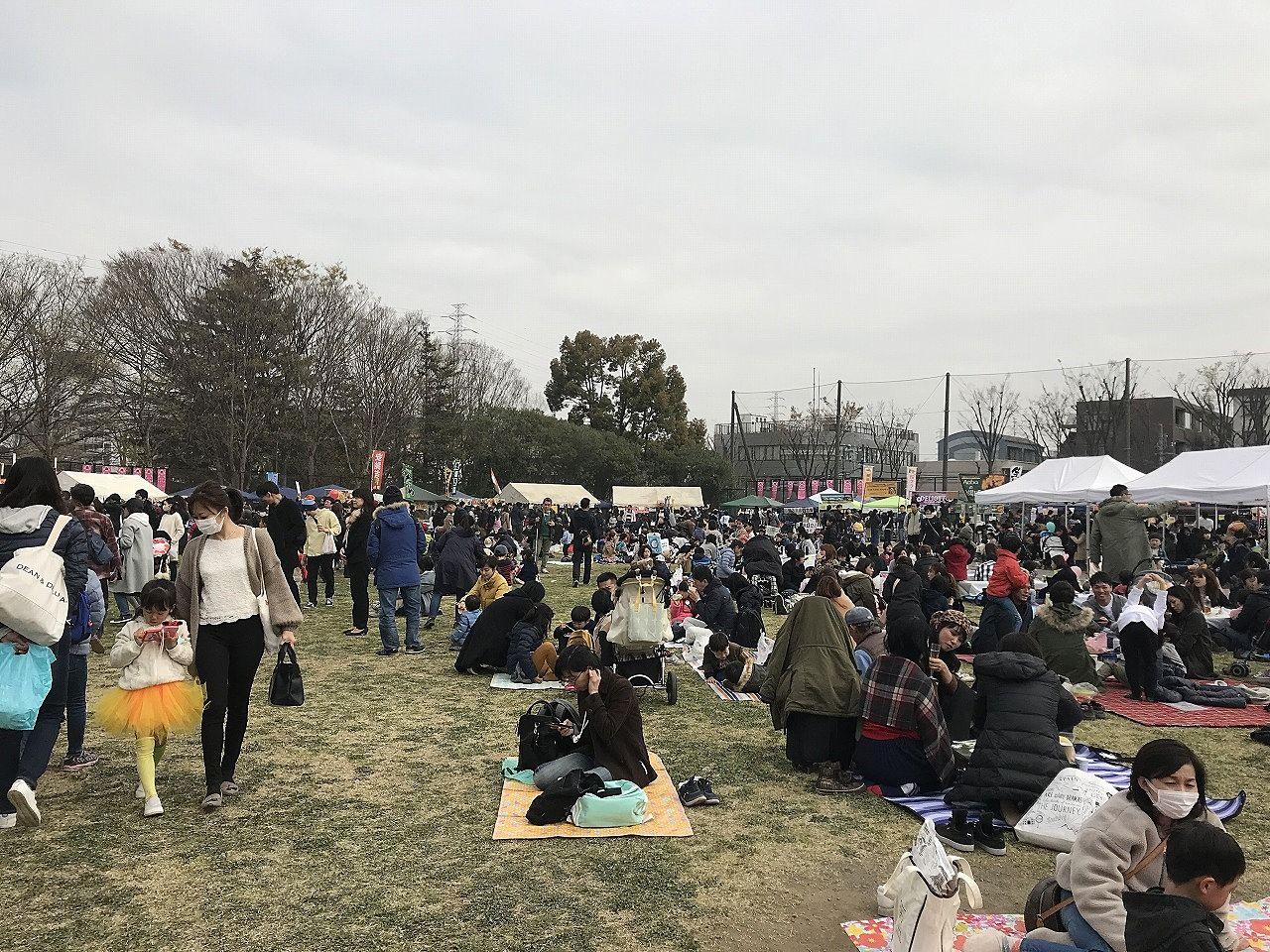 2019年たまプラーザ桜まつり(たまプラーザ桜フェスティバル)
