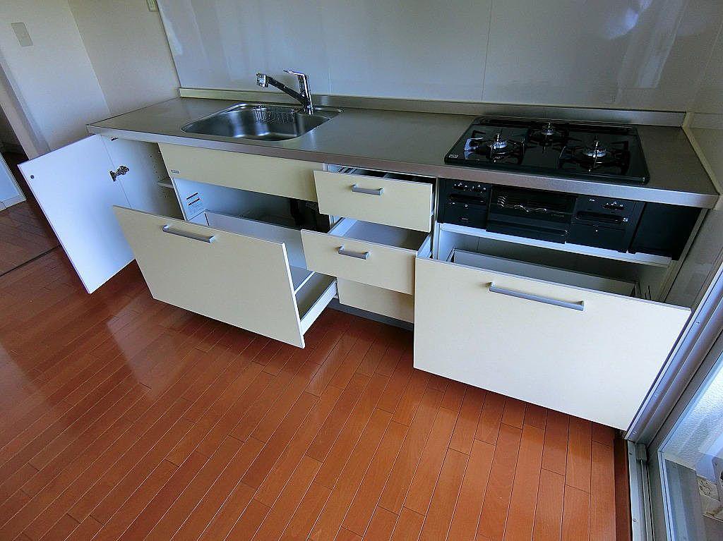 たまプラーザ団地のシステムキッチン