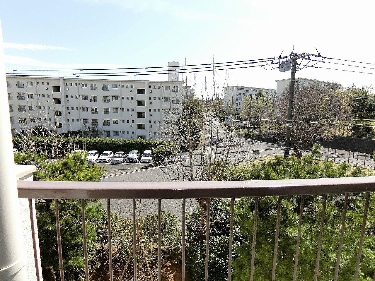 たまプラーザ団地5-1号棟の眺望