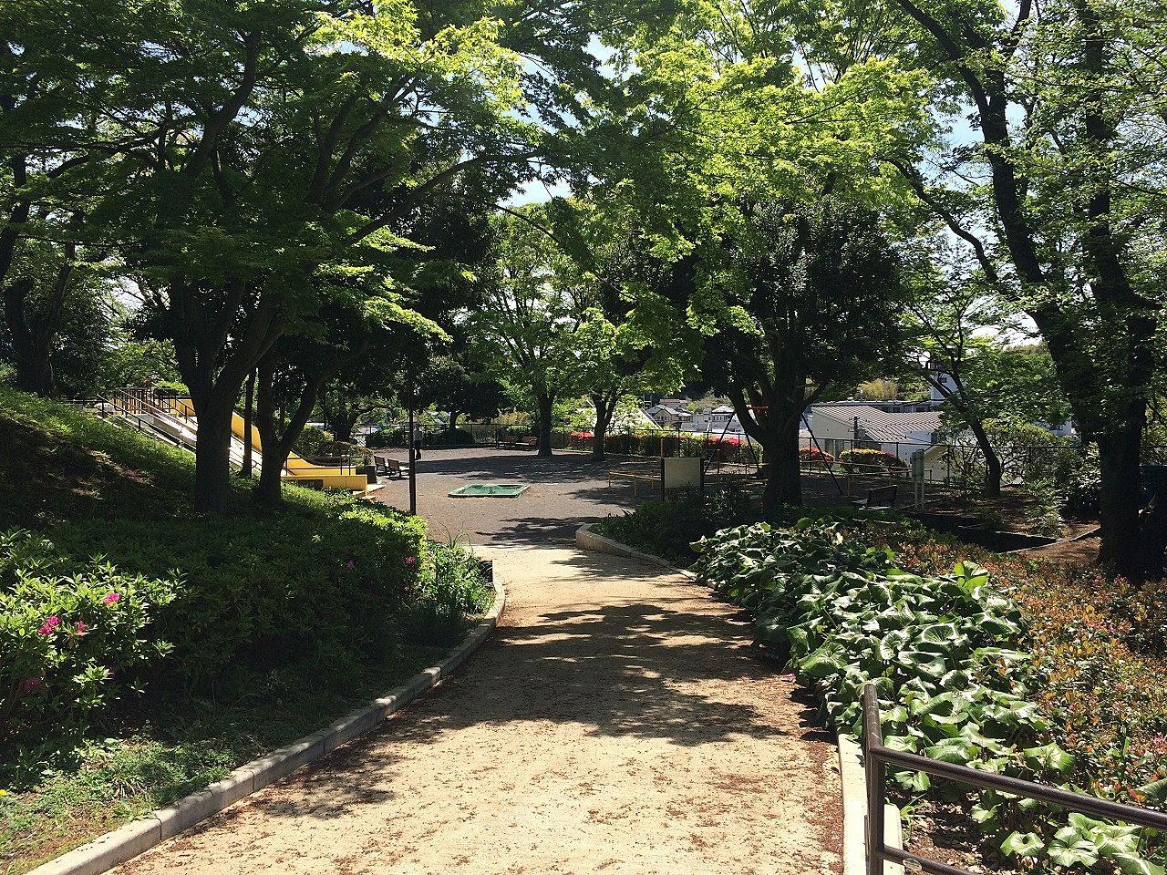 新緑の美しが丘第七公園