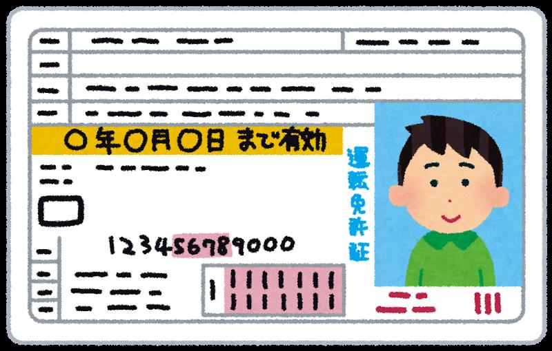 ご契約の時に管理会社(契約の窓口)に提出が必要な書類 身分証明書(運転免許書・健康保険証等/ファーストコピーを撮らせてください!表裏のコピーが必要になります。)