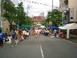 2007年たまプラーザ夏まつり たまプラーザ駅前通り商店会