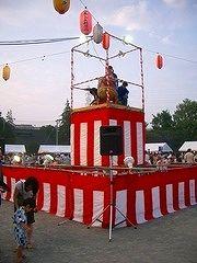 2007年たまプラーザ夏まつり 盆踊り会場(美しが丘公園・グラウンド)