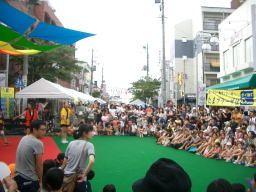 2008年たまプラーザ夏まつり  たまプラーザ駅前通り商店会