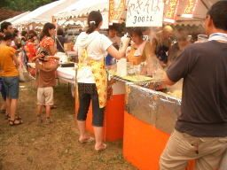 2008年たまプラーザ夏まつり 盆踊り会場(美しが丘公園・グラウンド)