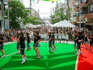 2009年たまプラーザ夏まつり たまプラーザ中央商店街