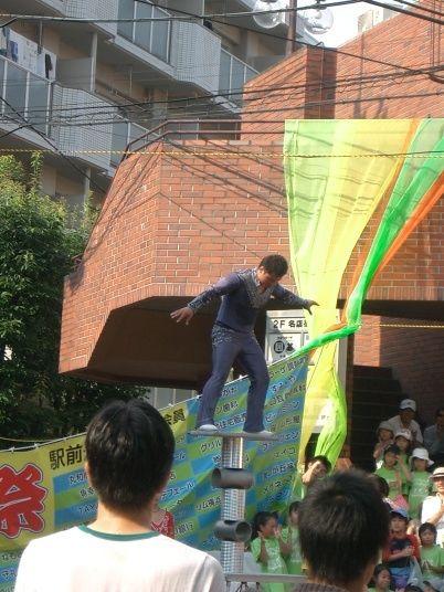 2010年たまプラーザ夏まつり たまプラーザ駅前通り商店会 中国雑技団