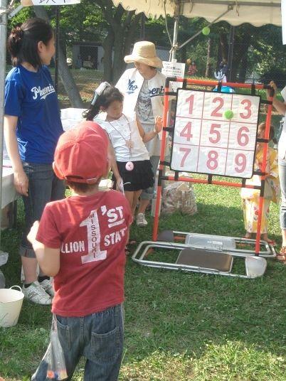 2010年たまプラーザ夏まつり 盆踊り会場(美しが丘公園・グラウンド)