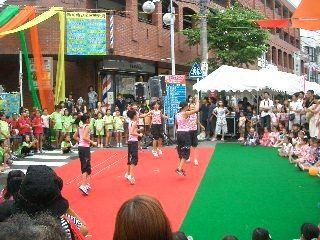 2011年たまプラーザ夏まつり たまプラーザ駅前通り商店会