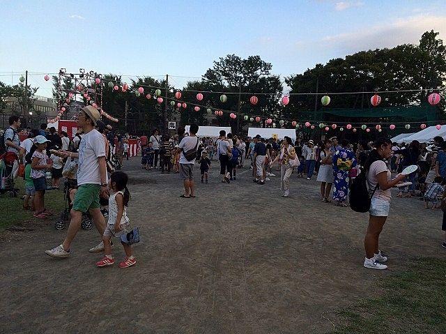 2016年たまプラーザ夏まつり 美しが丘公園 盆踊り会場