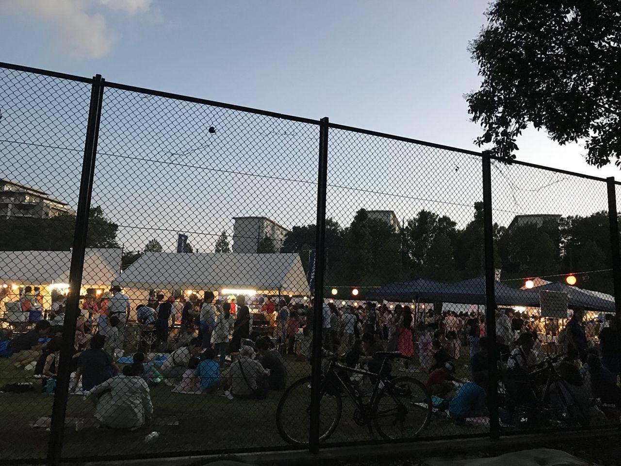 2018年たまプラーザ夏まつり・盆踊り会場