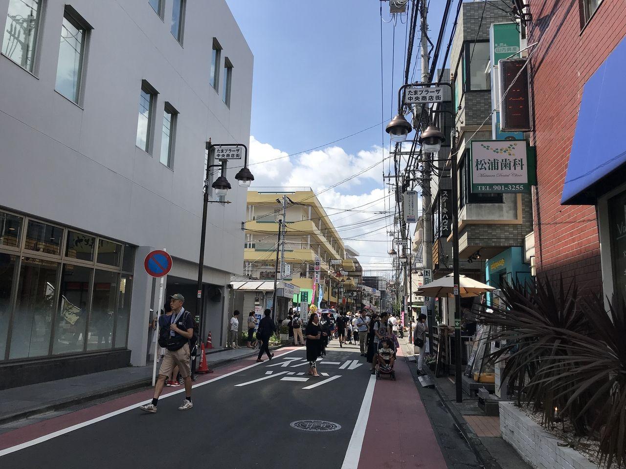 2018年たまプラーザ夏まつり・中央商店街