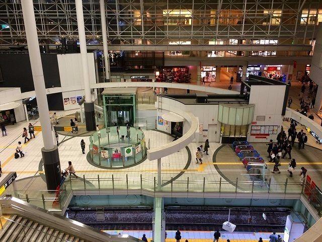 たまプラーザ駅の改札