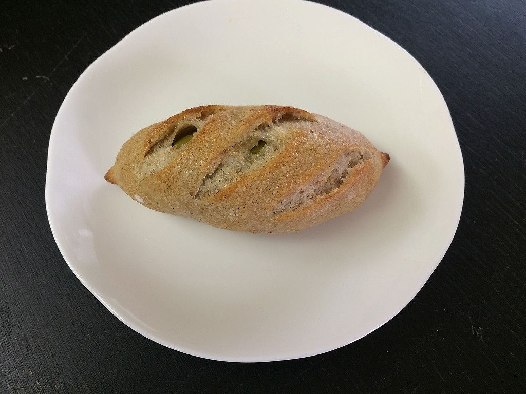 美しが丘西の「丘の上のパン屋」のアンチョビと…