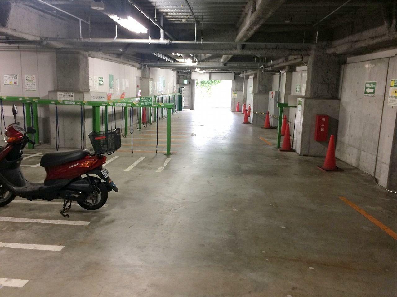 たまプラーザ南口の駐輪場G-2