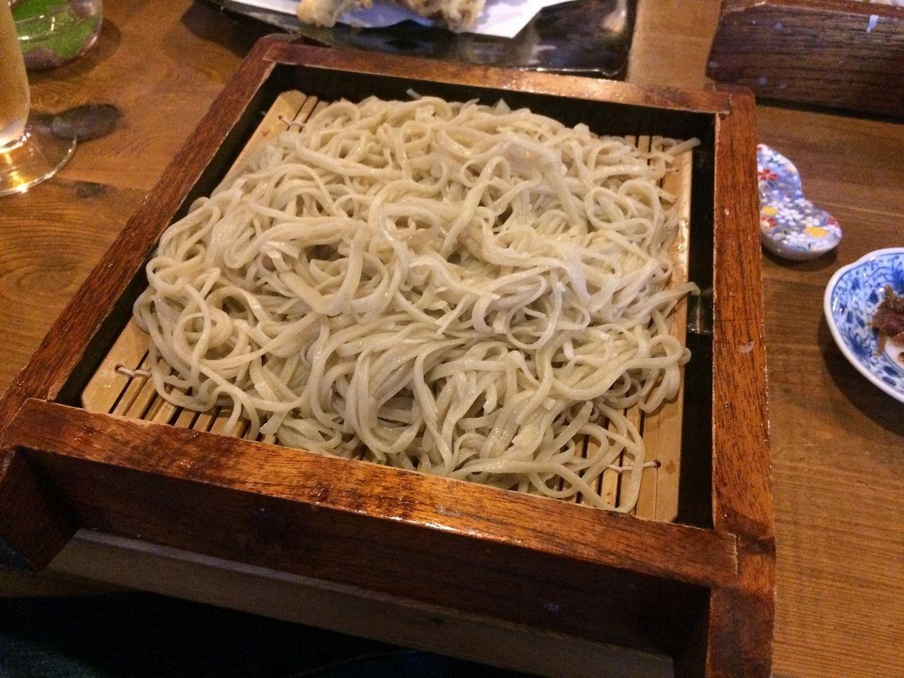 蕎麦屋さん「丹三郎」の「せいろ蕎麦」