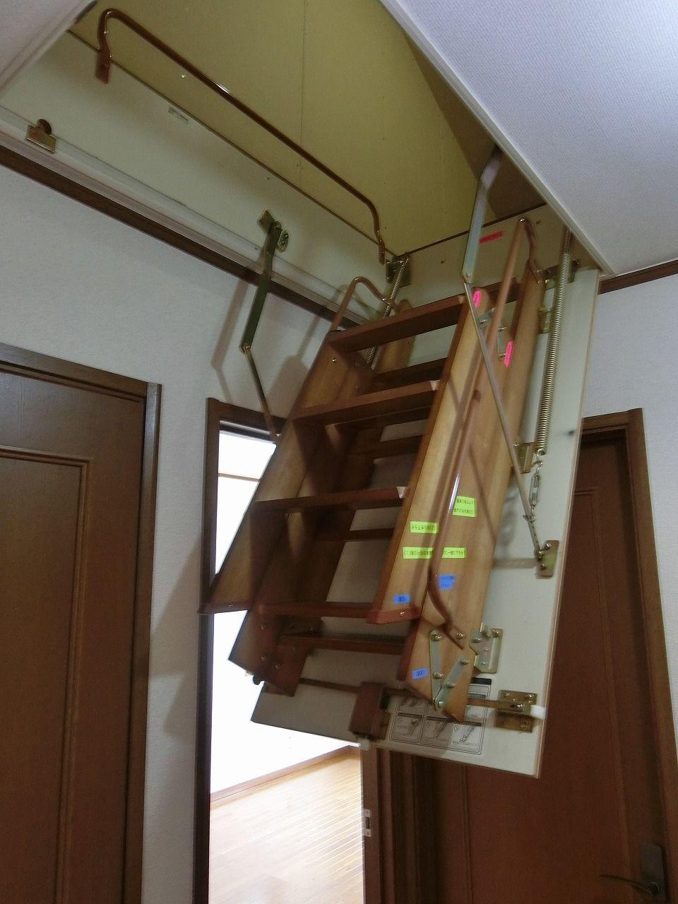 「パークテラスあざみ野」E棟の2階屋根裏収納