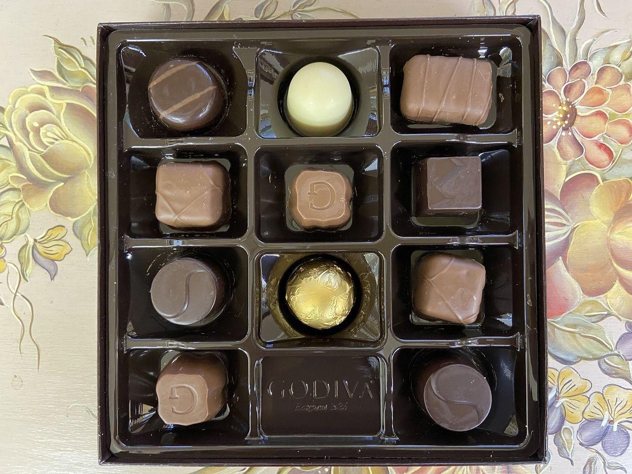 О様から頂いたゴディバのチョコレート