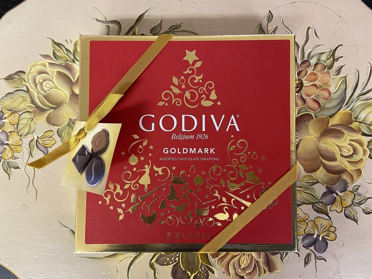 GOIVA GOLDMARK  ASSORTED CHOCOLATE CREATIONS ゴディバのチョコレート