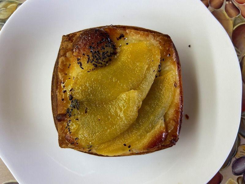 あざみ野のパン屋さん・パリジェンヌの紅茶とりんごのデニッシュ200円(税込)