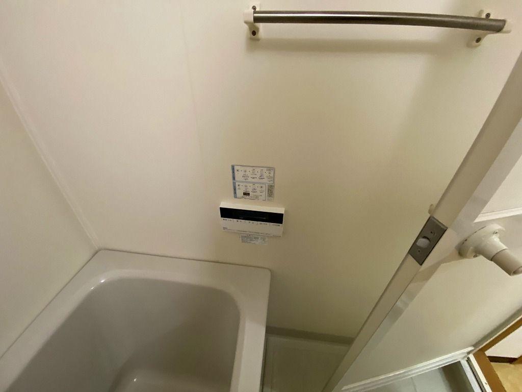 美しが丘4-22-5の賃貸マンションのアドバンスヴィラの浴室の操作パネルです。