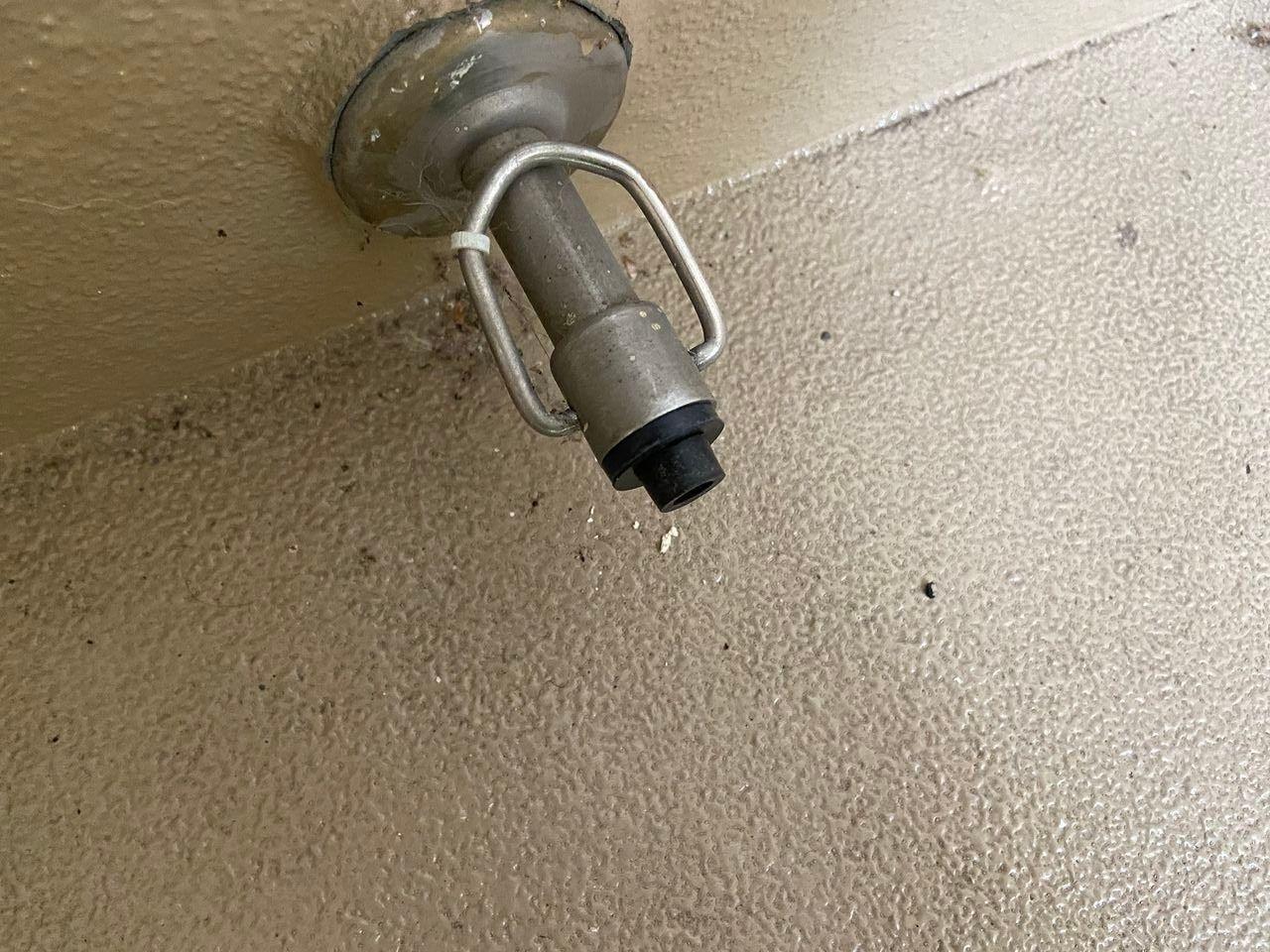 玄関ドアーの戸当たり・ゴムクッション/たまプラーザ団地