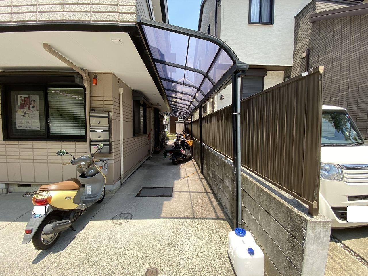 テナント募集中のクリニックに最適な青葉台駅から徒歩圏の横浜市青葉区桜台の貸店舗の外観。