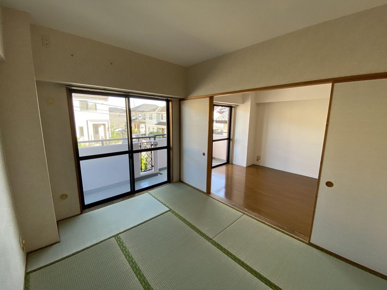 横浜市青葉区美しが丘4-22-5・「アドバンスヴィラ」201号室・和室