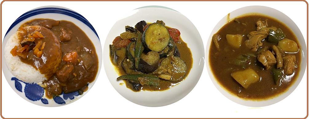 (この記事のブログ№7274)カレーについて、よく言われることですが、「カレーライス」と「ライスカレー」、どう違うのでしょうか?ご飯(ライス)よりもカレーが多いのが「カレーライス」、カレーよりもライス…