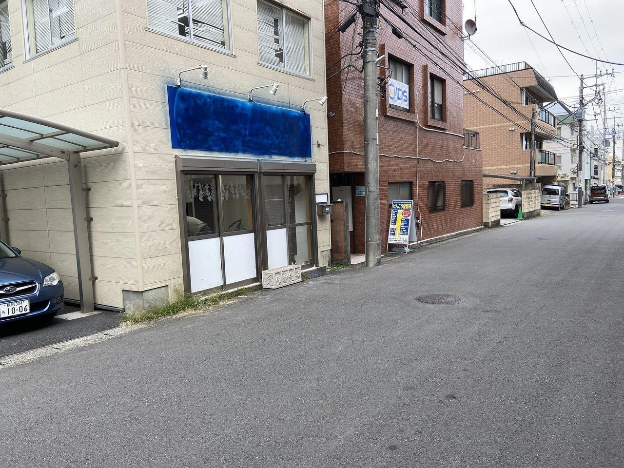 【成約済み】あざみ野5分・1階・小型店舗