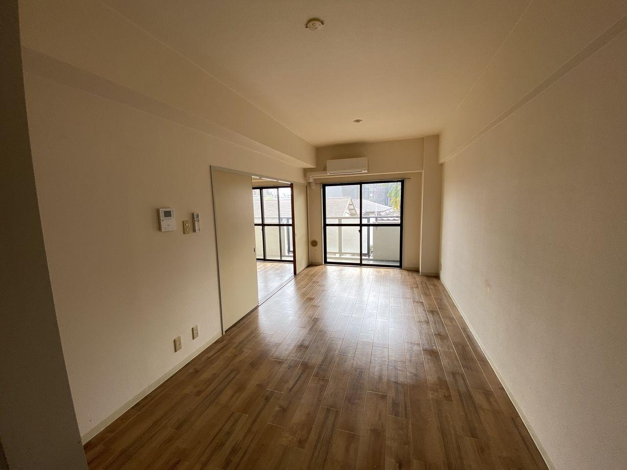 EV付たまプラーザ駅2分のマンションの第5正美ビルののバルコニー方向