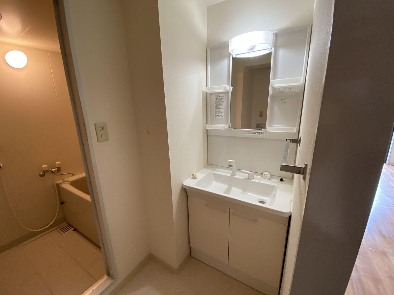 EV付たまプラーザ駅2分のマンションの第5正美ビルの水回り