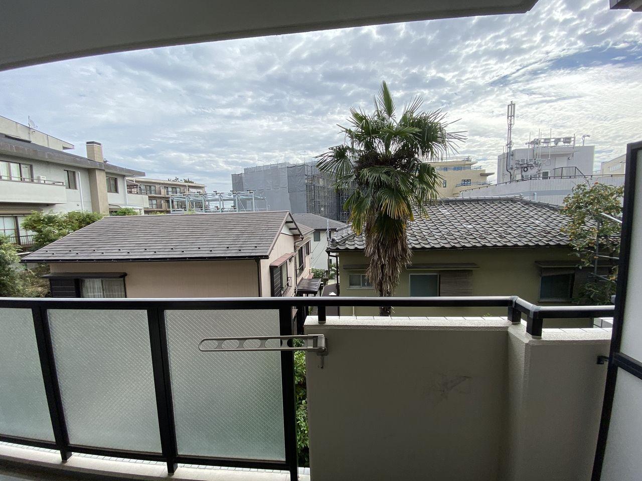 EV付たまプラーザ駅2分のマンションのバルコニーからの眺望