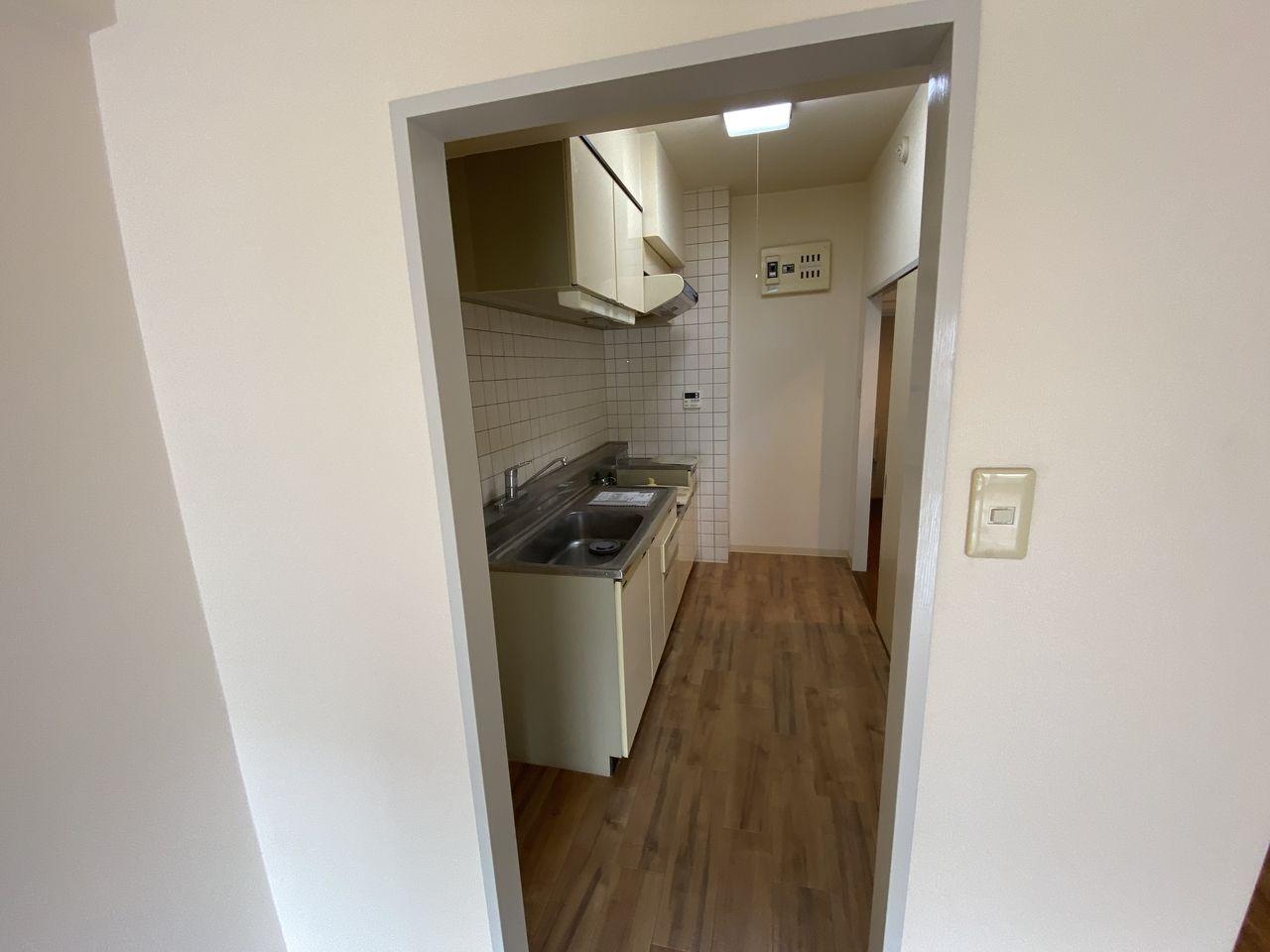 EV付たまプラーザ駅2分のマンションの第5正美ビルののキッチン