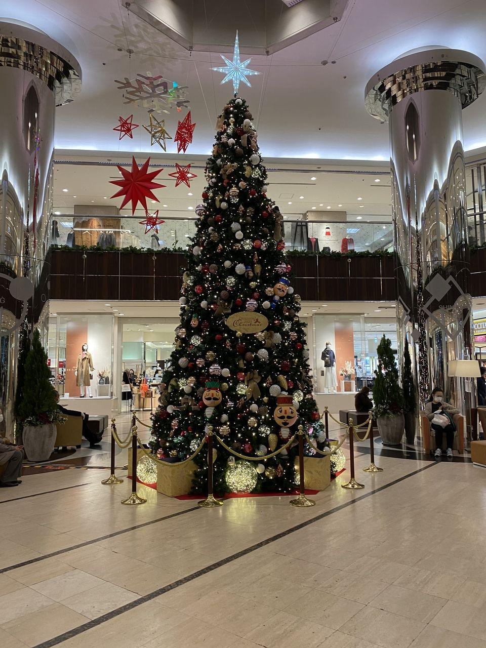 2020年/たまプラーザのクリスマスツリー