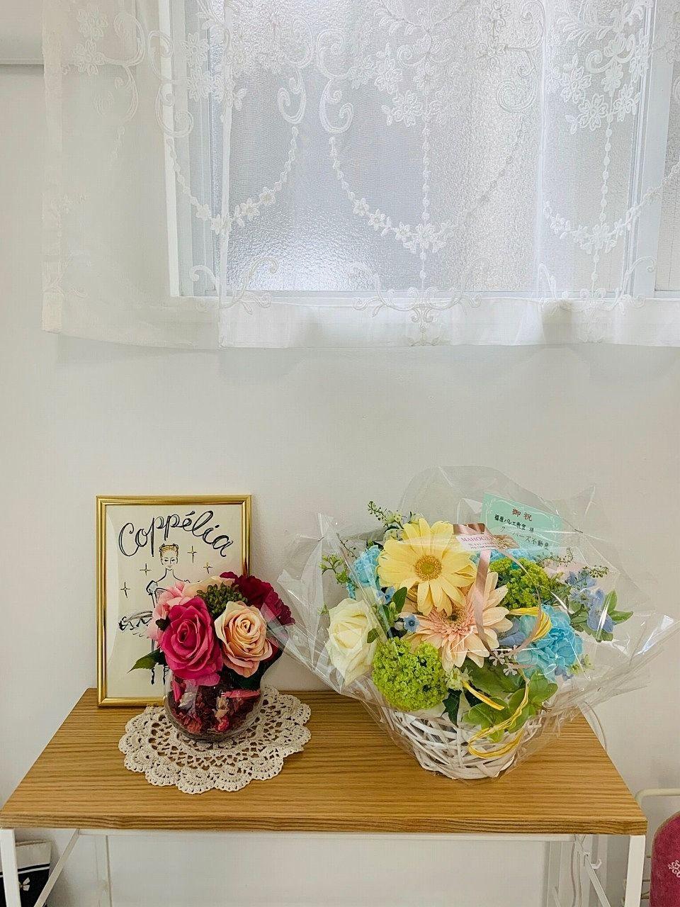 福原バレエ教室/FUKUHARA BALLET STUDIOオープンのお祝いのお花